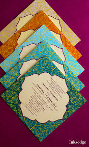 Islamic Invitation Cards Designed With Elegance Islamic Wedding Invitations By Inksedge