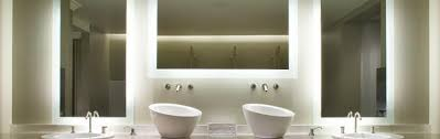 backlit bathroom vanity mirror fabulous lighted bathroom vanity mirrors and project ideas light