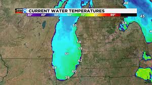 Severe Weather Map How The Great Lakes Protect Michigan From Severe Weather Woodtv Com