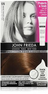 Hair Color Light Brown Amazon Com John Frieda Precision Foam Colour Light Natural