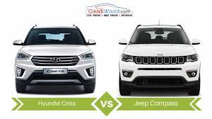 jeep maruti jeep compass vs hyundai creta specs comparison