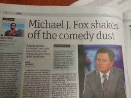 Michael J Fox Meme - so this was in the newspaper rebrn com