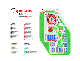 Rogers Centre Floor Plan by Maps