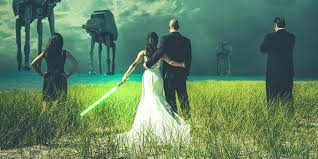 wars wedding bands everything you need for a wars wedding minus the evil sith
