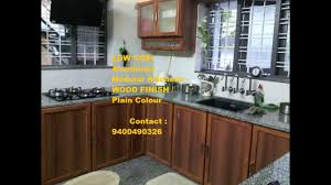 thrissur low cost kitchen cabinets u0026 interiors ph 9400490326