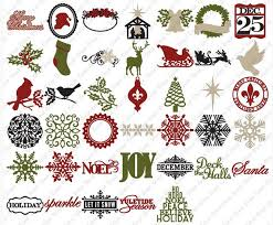 25 december cricut cartridge scrapbooking paper crafts ideas