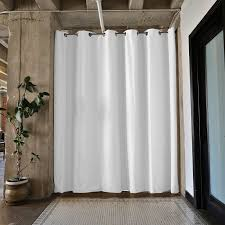 Room Curtains Divider Roomdividersnow Premium Heavyweight Room Divider Curtain Panel