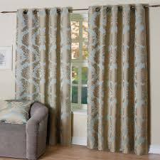 Demask Curtains Scatter Box Elizabeth Damask Embossed Lined Eyelet Curtains Ebay