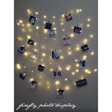 lights photo display picture frame hanging lights