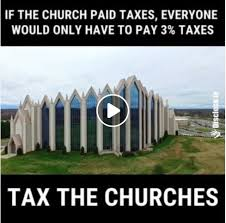Atheist Memes - stupid atheist memes tax the churches now with really bad math