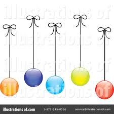 christmas ornaments clipart 67993 illustration by pams clipart