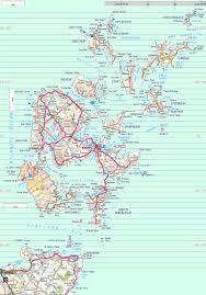 Road Map Of Scotland Orkney Map Orkney Uk U2022 Mappery