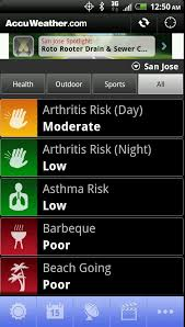 accuweather android app accuweather app gets severe weather push notifications