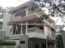 traditional home plans superb three floor tamilnadu traditional house elevation latest
