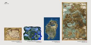 The Witcher 3 World Map by Zelda Breath Of The Wild Fair Map Comparison Gaming
