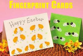 easter cards fingerprint easter cards creative steps creative steps