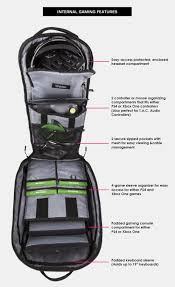 egl flyte backpack blk with rug patches electronic gamers