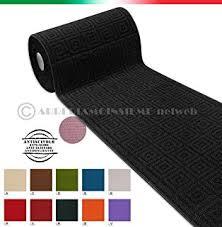 tappeto guida tappeto cucina multiuso tinta unita su misura al metro h57 cm
