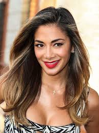 picture of nicole s hairstyle from days of our lives nicole scherzinger debuts new boho haircut and bronde haircolor