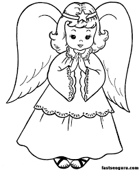 christmas coloring pages printable christmas angels coloring