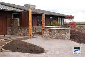Stone Decks And Patios by Decks And Patio Construction Eugene Oregon