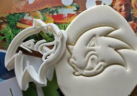 sonic the hedgehog cookie cutter made from biodegradable zoom