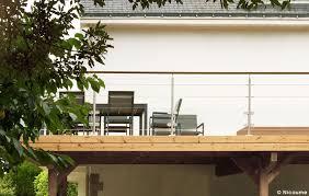 garde corps jardin garde corps et escaliers pour terrasses en bois grad concept