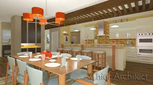 Chief Architect Kitchen Design by Residential Construction Company Big Street Construction
