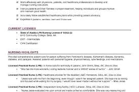 Sample Lpn Resume Objective by First Objective Resume For Licensed Practical Nurse Position Lpn