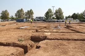 new home foundation ready for rebar and concrete as fm89 s new home takes shape