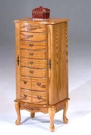 jewelry armoire oak finish jewelry armoire oak finish perfectgreenlawn com