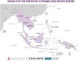 pacific region map what is asean matters for america by the east center