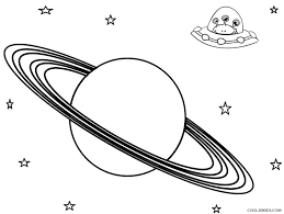 saturn coloring pages print kids coloring