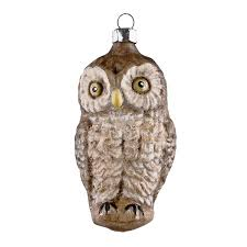 german glass owl ornament europeanmarket