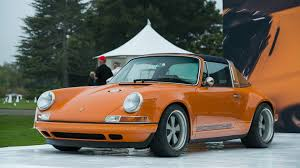 porsche 964 stunning porsche 964 targa reimagined by singer takes the stage in