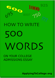 Admissions Essay Examples College Essay 500 Word Limit 5 Simple Ways To Pare It Down