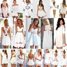 all white women summer celeb playsuit party evening beachwear