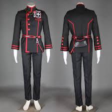 d gray man season 2 allen walker cosplay costume black order 3nd