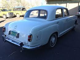 classic mercedes sedan 1957 mercedes benz 219 sedan very nice original jim hailey u0027s