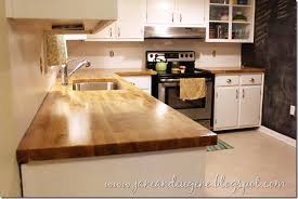 how to install butcher block countertops so much jane and eugene installed butcher block countertop