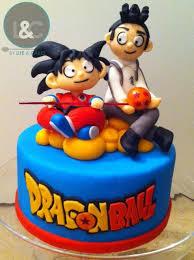 dragon ball cake topper by life u0026 cakes via flickr cute ideas