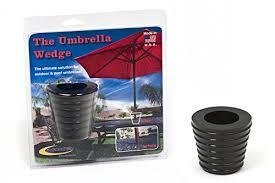 Patio Umbrella Wedge Daystar Umbrella Wedge Black Fits Most Patio