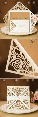 laser cut invitations 42 best laser cut wedding invitations images on