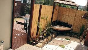 Patio Fence Ideas Popular Of Small Patio Fence Ideas Bamboo Fencing Ideas Stylish