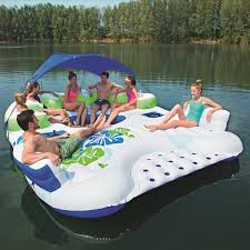 Island Canopy by Amazon Com Coolerz X5 Canopy Island Inflatable Floating River