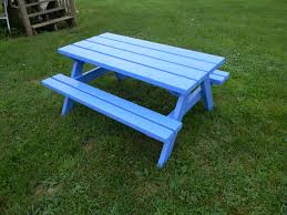 How To Make Picnic Bench Best Kids Picnic Table Plans