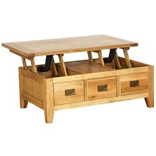 Lift Up Coffee Table Coffee Table With Drawers Coffee Table