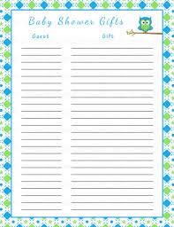 Baby Shower Planner Checklist Baby Shower Gift Checklist U2013 Diabetesmang Info