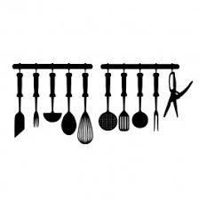 cuisine et ustensiles stickers ustensiles de cuisine