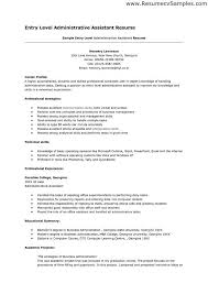 administrative resume samples hitecauto us